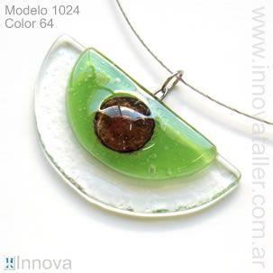 Bijouterie de vitrofusion - Colgantes y collares - Innova