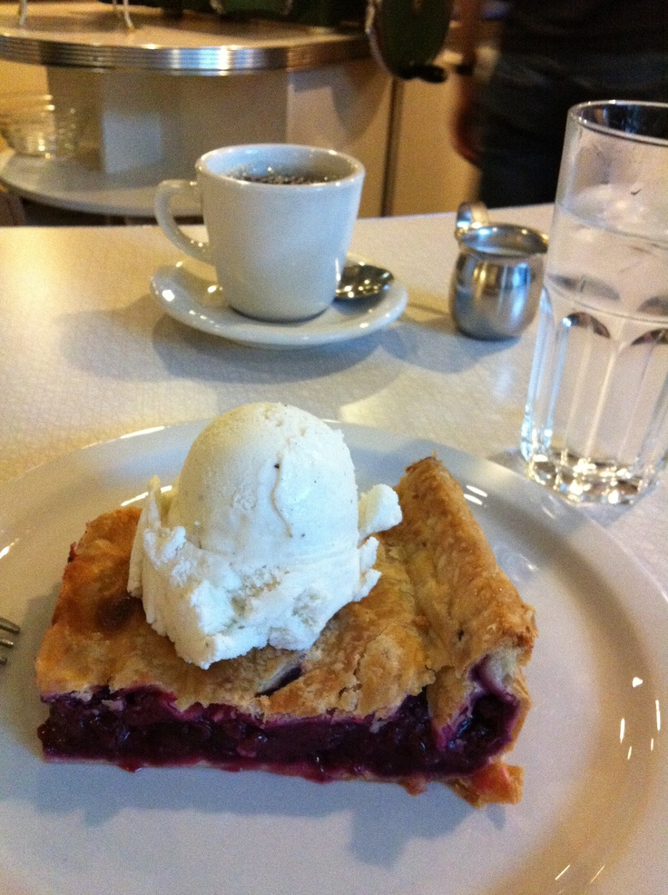 My dad was a baker. So were my brothers. I ate so much sweet baked goods as a kid...my 2 front teeth rotted! The only thing I remember with love? PIE! This pie is from The Shuswap Pie Company in Salmon Arm BC Canada, and it is DELICIOUS! You should go...Pie ROCKS!
