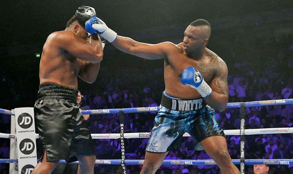 Dillian Whyte shocks Brit Dereck Chisora with points victory on Anthony Joshua undercard