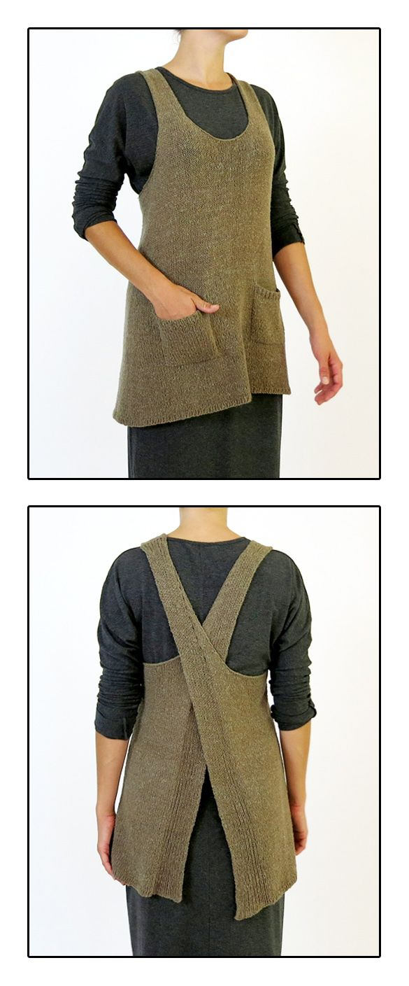 Maude - knit tunic pattern