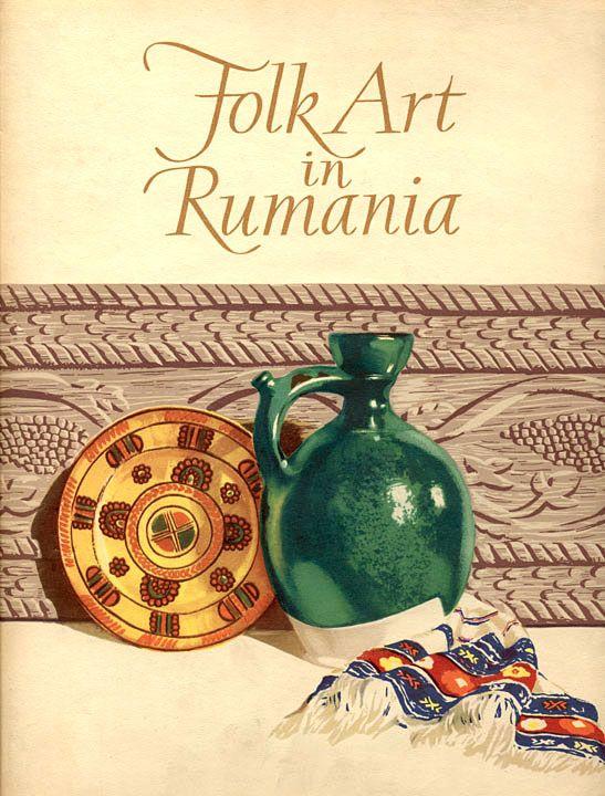 Symbolic Romanian folk art objects