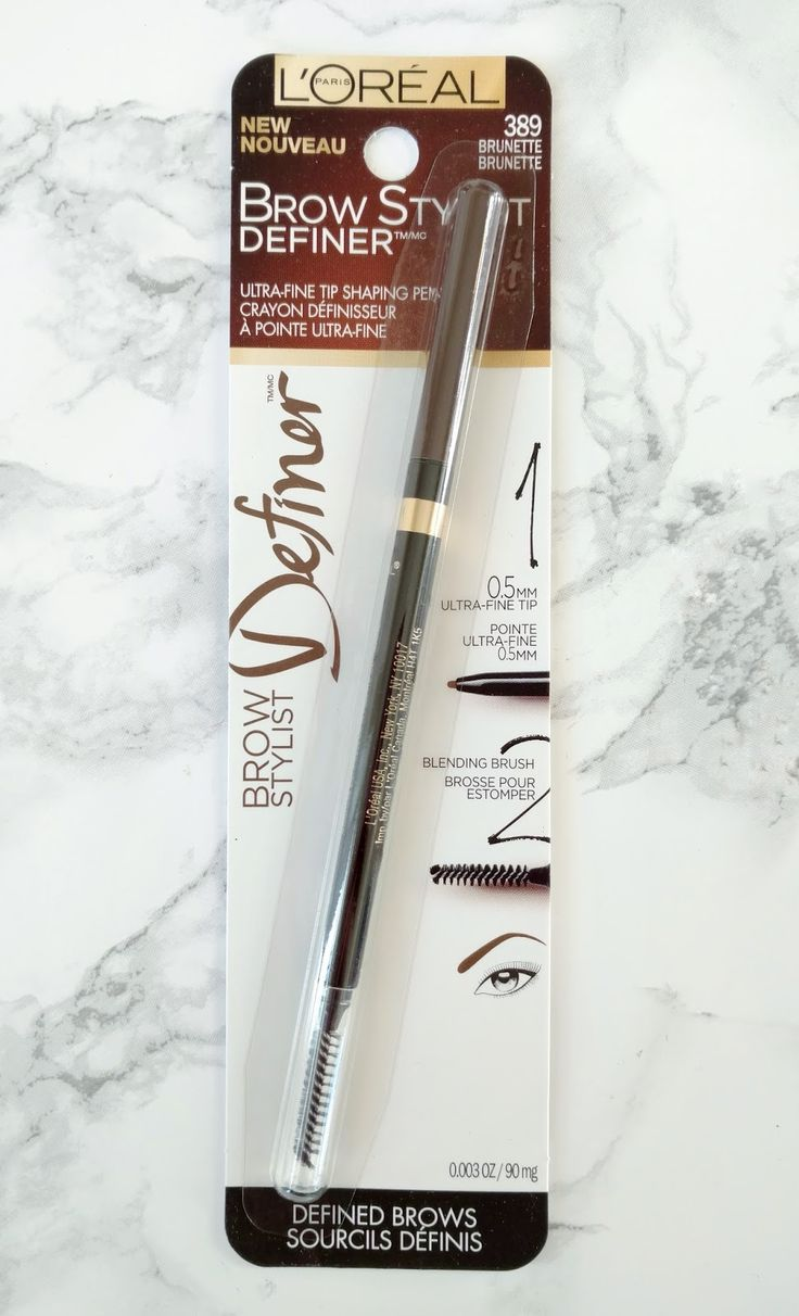 L'Oreal Brow Stylist Definer- Anastasia Brow Wiz Dupe!
