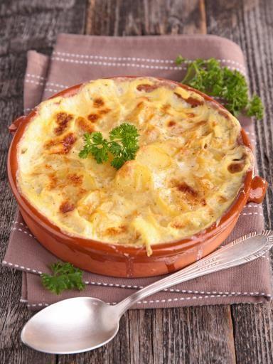 Gratin aux pommes de terre à la russe : Recette de Gratin aux pommes de terre à la russe - Marmiton