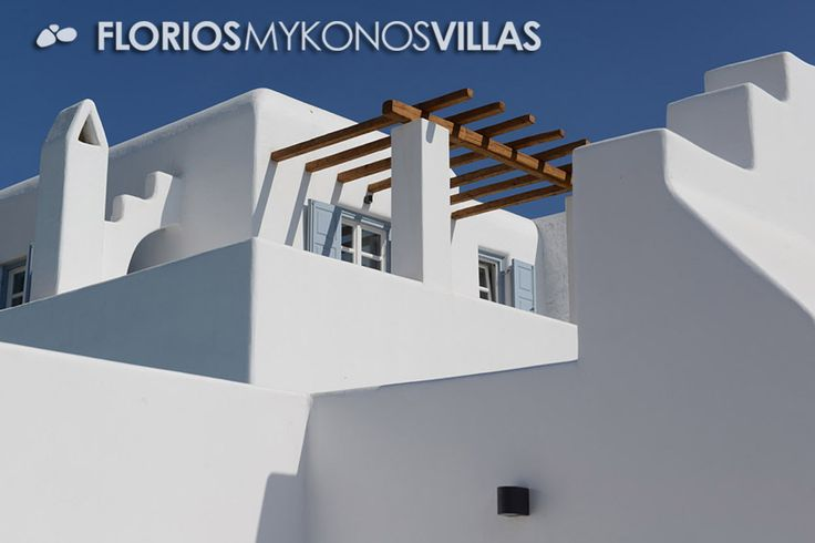 This elegant villa is located in the area of Ornos Bay in Mykonos, a short distance from the sea overlooking the beautiful beach. The villa is built on a plot of about 5,5 hectares, in amphitheater location. Villa for Rent on Mykonos island, Greece. FMV1327 http://florios-mykonos-villas.com/property/fmv1327/