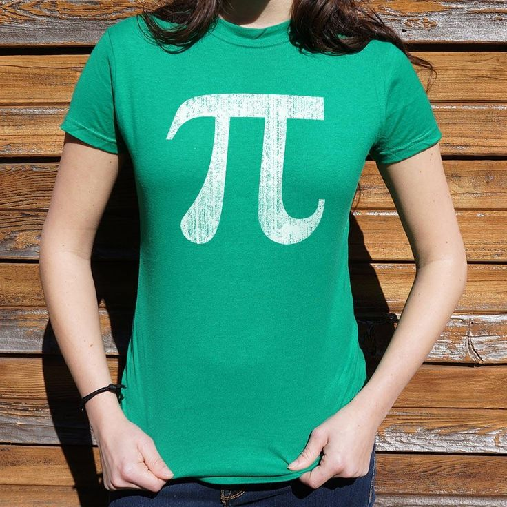 Ladies Pi Symbol T-Shirt