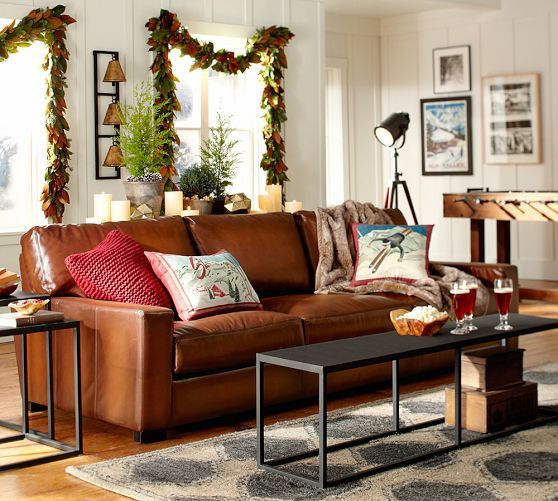 fulton rug pottery barnleather couch rug really cool tpferei scheunen couchhtte wohnzimmerwohnzimmer ideeneinrichtungsanregungenstudio - Tpferei Scheune Kleine Wohnzimmer Ideen