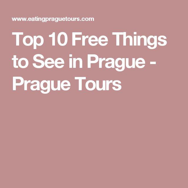 Top 10 Free Things to See in Prague - Prague Tours