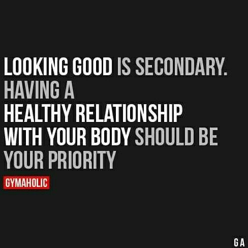 Everyone has their own reason(s). My priorities are to be healthy and strong.