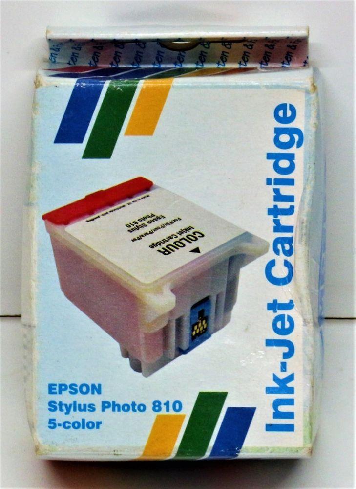 EPSON STYLUS PHOTO 810 830 925 C 505 COLOUR INK-JET PRINTER INK CARTRIDGE IN BOX