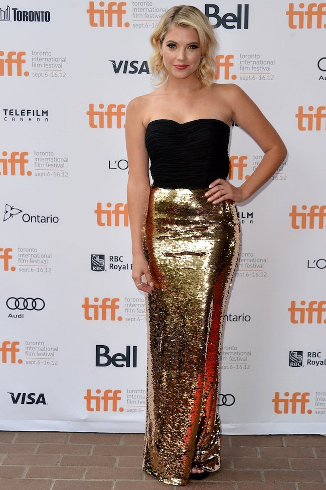 glam: Film Festivals, Style, Spring Breakers, Red Carpets, Ashley Benson Dresses, Dolce & Gabbana, Celebrity Fashion, Gold, Beautiful Clothesshoesfashion