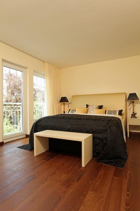 Fertighaus Wohnidee Schlafzimmer Stadtvilla