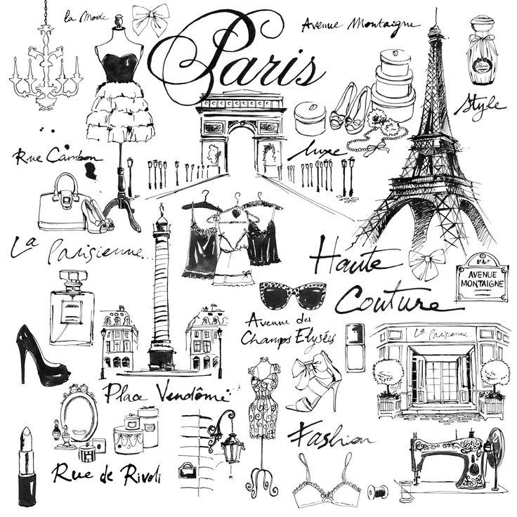Illustration - Draw - Fashion / Paris https://www.facebook.com/lutheen.illustration