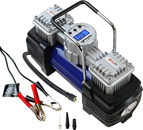 EPAuto 12V Duo Power Portable Air Compressor Pump with Alligator Clamps Direct to Battery for small ATV / Truck / SUV / Sedan Tires - http://www.caraccessoriesonlinemarket.com/epauto-12v-duo-power-portable-air-compressor-pump-with-alligator-clamps-direct-to-battery-for-small-atv-truck-suv-sedan-tires/  #Alligator, #Battery, #Clamps, #Compressor, #Direct, #EPAuto, #Portable, #Power, #Pump, #Sedan, #Small, #Tires, #Truck #Portable-Power, #Tools-Equipment