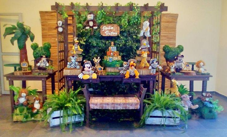 Decoração o Mickey Safari #mickeysafari #safaridomickey #mickey #safari #festa #festasafari #mickeysafary  #bethdecora #decoraçãoinfantil Mickey safari , festadomickey #decoraçãodosafari whattsapp 98325-2545