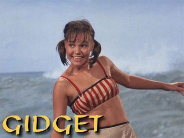 Gidget on  TV, wore my hair like this for awhile..she was so cute..
