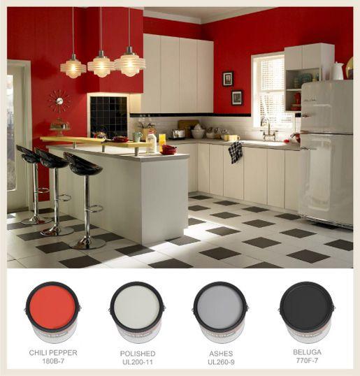 Dark Red Kitchen Accessories: 1000+ Ideas About Rockabilly Home Decor On Pinterest