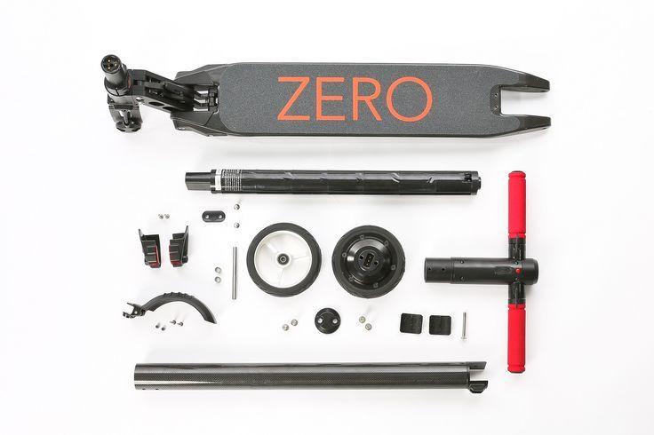 Zero 2.0. Ultra lightweight. Modular. Build your own scooter.