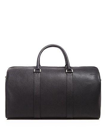 Jack Spade Leather Duffel Bag