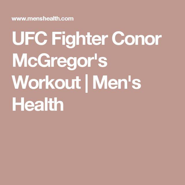 UFC Fighter Conor McGregor's Workout | Men's Health