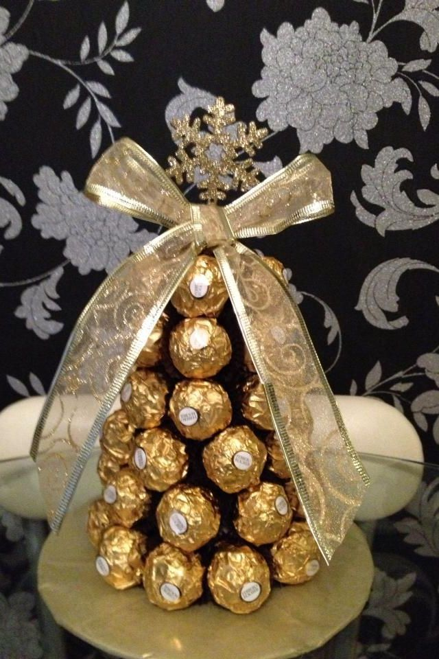 Ferrero rocher Christmas tree                                                                                                                                                                                 More