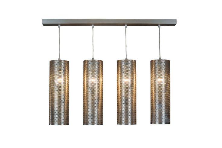 Modern Lamp, geometric design, ceiling light WINDCHIMES #Archerlamps #Contemporary