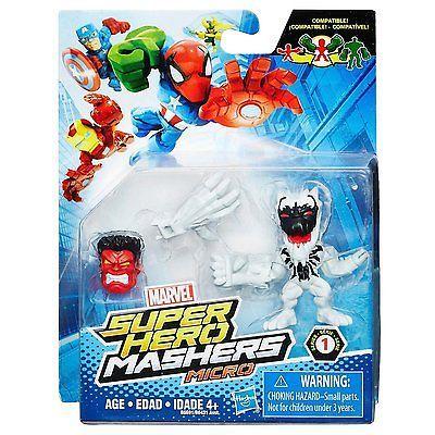 Marvel Avengers Super Hero Mashers Micro - Anti Venom - Brand New