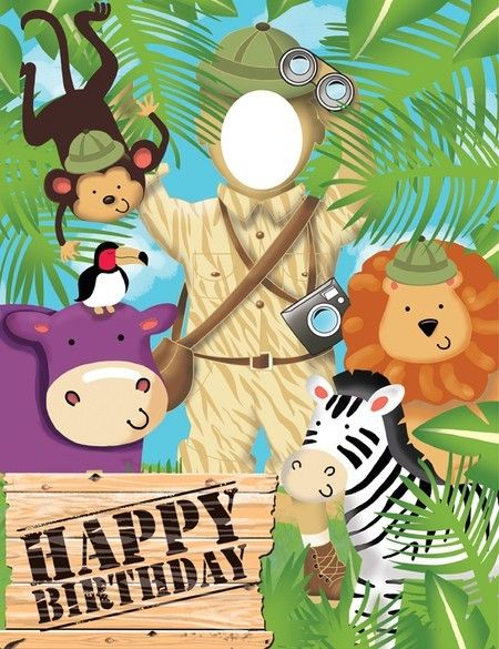 Party Time Celebrations  - Safari Adventure Photo Op Banner, $12.95 (http://www.partytimecelebrations.com.au/safari-adventure-photo-op-banner/)