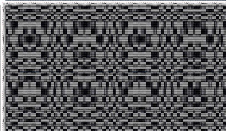 draft image: one-two, my own original pattern, 4S, 4T