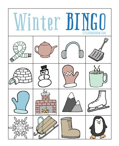 Play a fun game of Winter Bingo with your kids! So this year O's elementary school took the step of making all classroom parties food-free. Which to this food allergy mom, is super awesome exciting news. Plus it's a healthier choice, in my opinion.  Anyway, O's teacher has the parents volunteer to bring games and…