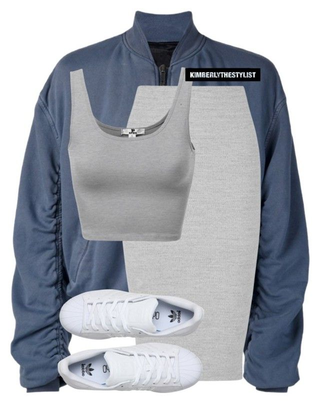 """Untitled #2410"" by whokd ❤ liked on Polyvore featuring Haider Ackermann, James Perse and adidas"