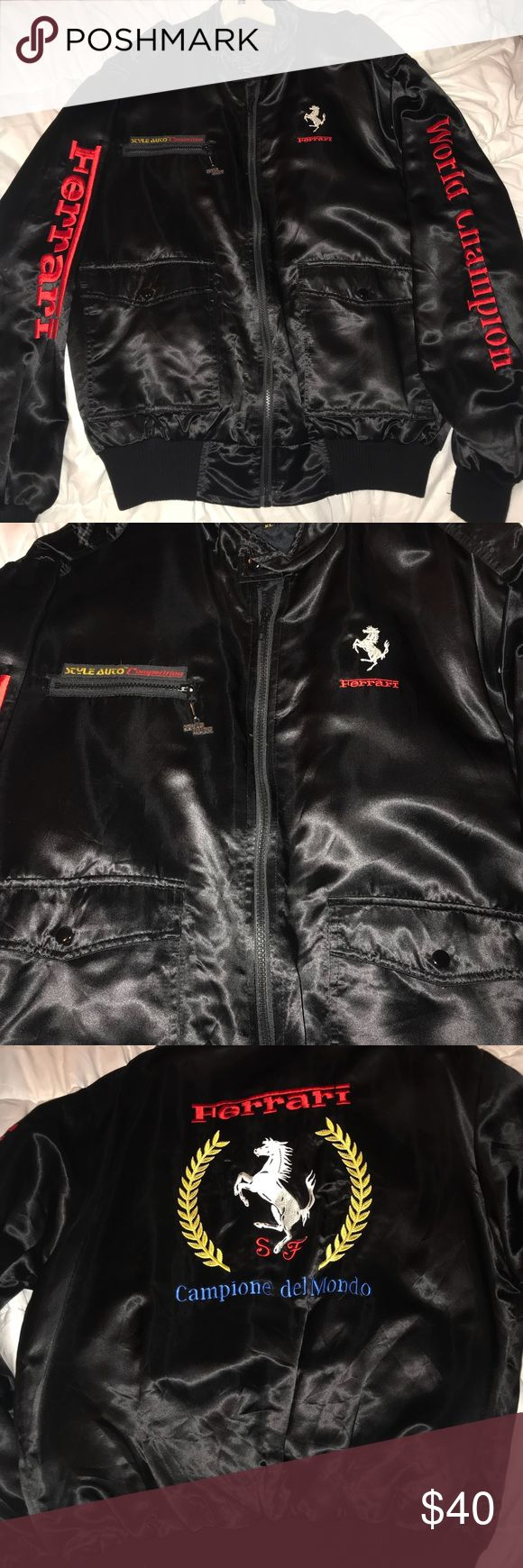 Style Auto Ferrari Racing Jacket Never worn - not sure of actual price, was a gift. Jackets & Coats