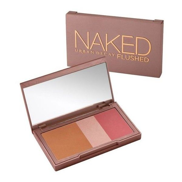 Naked Flushed (115 PLN) via Polyvore featuring beauty products, makeup, cheek makeup, blush, urban decay blush i urban decay