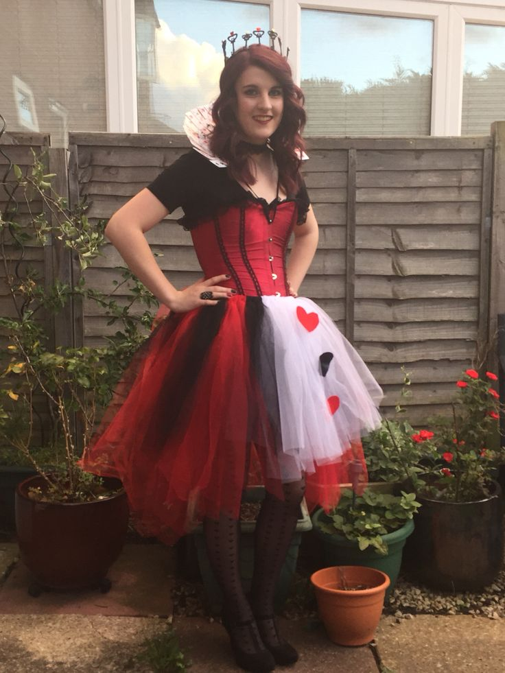 Queen Of Hearts Costume Diy Tutu 17 Best images about Q...