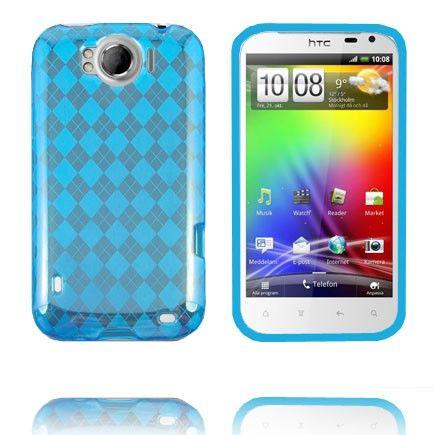 Tuxedo (Sininen) HTC Sensation XL Silikonisuojus