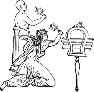 """The sistrum was an Egyptian instrument of music, used in certain ceremonies by that people, and especially in the worship of Isis."" — Anthon, 1891"