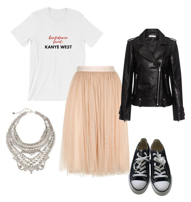 6 by vanessa-fuentes-salas on Polyvore featuring moda, IRO, Needle & Thread, Converse and DYLANLEX
