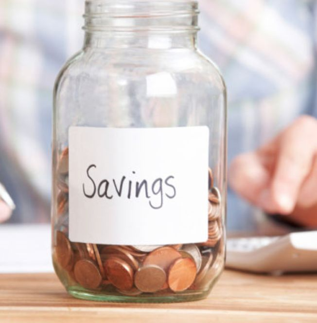 My husband and I both started a savings account when we were younger and combined we have about $100,000 in their now to help us financially.