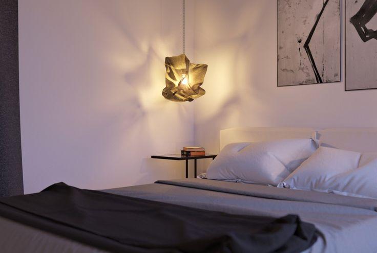 белая спальня в современном стиле #неоклассический минимализм