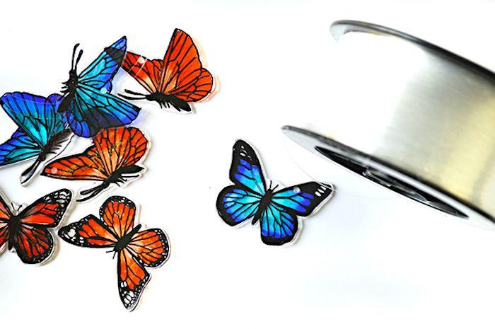 1001 Tolle Ideen Wie Sie Schmetterling Basteln Leaf