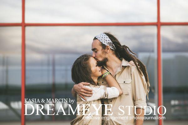 dreameyestudio.pl   #dreameyestudio #streetsession #streetfashion #engagement session #kiss #rasta