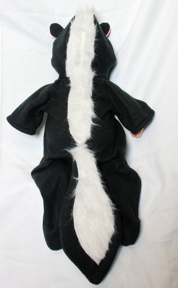 Skunk Baby Costume by TrulyYoursW on Etsy