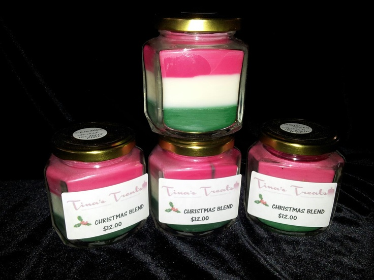 More Christmas Blend Jars!    www.facebook.com/tinastreat