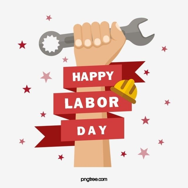Labor Day Labor Day Labor Day Hand Painted Worker Arm Labor Day May Day May 1 Png Transparent Clipart Image And Psd File For Free Download Labor Day Clip Art Happy