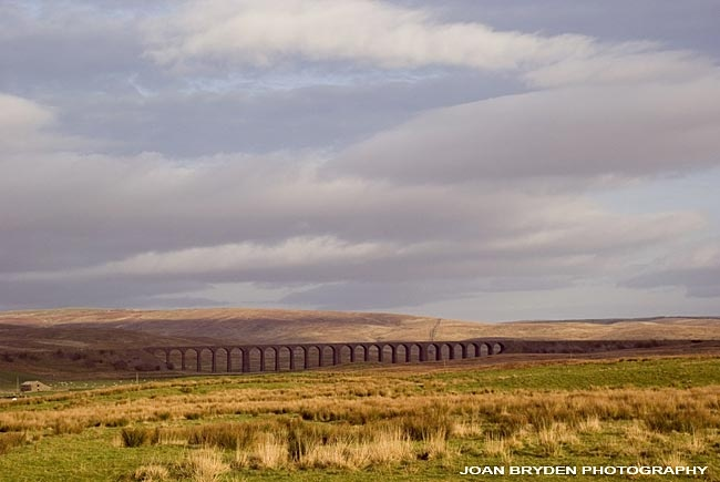 Ribblehead Viaduct, Yorkshire Dales National Park, North Yorkshire, England