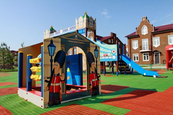Тематическая детская площадка
