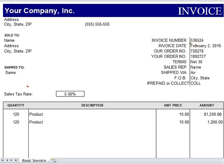 Sample of Invoice Excel Template Excel Templates Pinterest - excel templates invoice