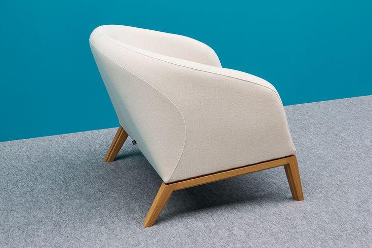 NOTI armchair   MULA collection   design by Piotr Kuchciński   home   hotel   caffee   club   furniture   elegant   modern   classic   60s
