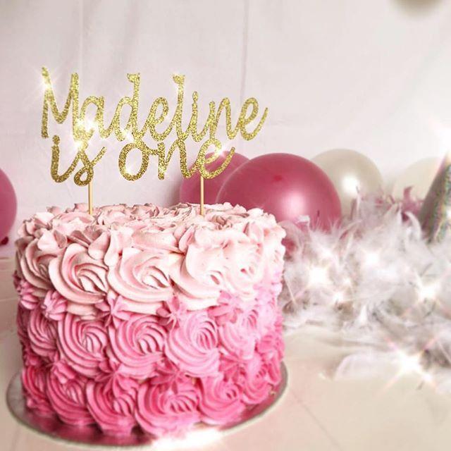 Best 25 Girls First Birthday Cake Ideas On Pinterest