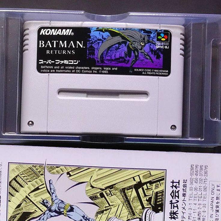 Amazing one by 16lifegames #retrogames #microhobbit (o) http://ift.tt/243WurO RETURNS バットマン リターンズ  16lifegames #superfamicom #sfc #batmanreturns #batman #platform #konami #batmangames  #16lifegames #mario #supermario #supermario2 #supermario3 #nintendo #ninstagram #nostalgia #igersnintendo #nin10do #retrocollective #retrocollectiveus #retrocollectivespain #retrogaming  #retrogamer #retrovideogames #amiibo #superfamicom #snes #cadiz #network #1448collection