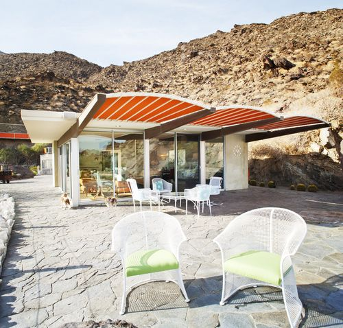 Inside Modernism Week's Showpiece: the 1959 Seva House, Palm Springs, CA
